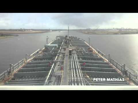 Timelapse video os Ship Berthing in the Port of Amsterdam