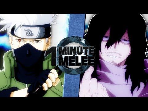 Kakashi vs Aizawa (Naruto vs Boku No Hero Academia) One Minute Melee S6 EP3