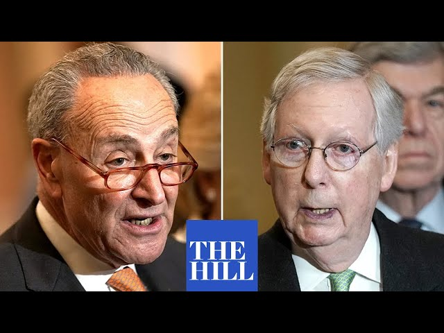 Schumer RAILS AGAINST McConnell, Republicans for lack of action on COVID-19 stimulus