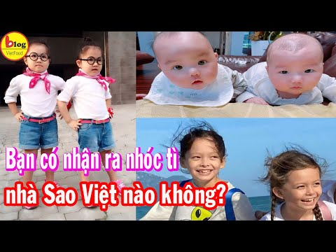 7 Cặp Song Sinh Nhà Sao Việt Xinh Hết Chỗ Chê