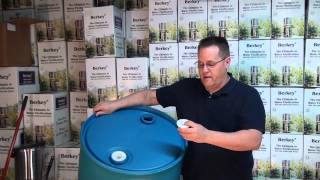 55 Gallon Water Barrel for Water Storage - How to Store Water