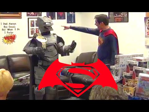 batman vs superman comic book fight