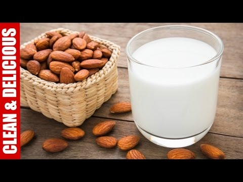 How-To Make Almond Milk   Clean & Delicious - YouTube