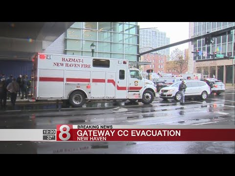 Gateway Community College evacuated after unknown powder discovered
