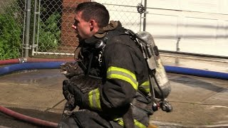 animal rescue cat rescued from fire paterson nj fire department