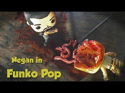Funko Pop Negan kills Abraham and Glenn