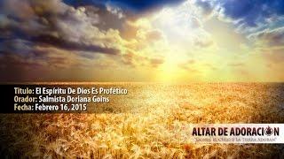 Taller de Adoración - El Espíritu de Dios es Profético
