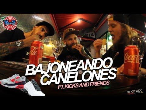 Bajoneando canelones ft . Kicks And Friends en Quilmes