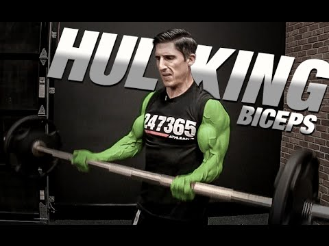 How to Get Big Biceps GUARANTEED!! (Hulk Arms)