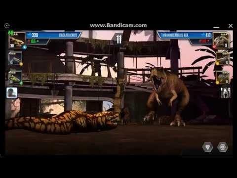 Jurassic World: The Game - Gorgosaurus Tournament Battle 3