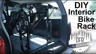 DIY Interior SUV Bike Rack