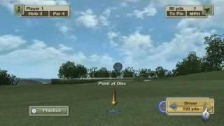 Tiger Woods PGA TOUR 10 Wii Disc Golf