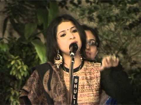 BHAJAN BY  SMT. KAUSHIKI CHAKRABARTY AT BIRLA ACADEMY  ON 8TH FEBRUARY, 2014