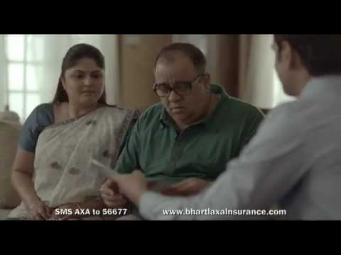 Bharti AXA Insurance Dedicated Claims Handler TVC 2013