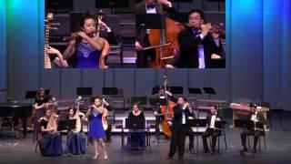 Flute Duet《Happy Melody from Hainan》Wayne Yee, Lauren Shen of SCO; SCO Ensemble