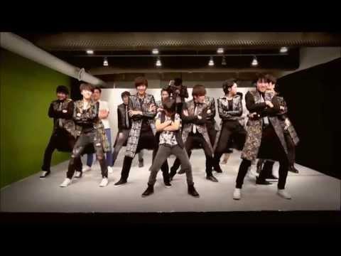 Seventeen show ending- Gangnam style & Gentleman [HD]