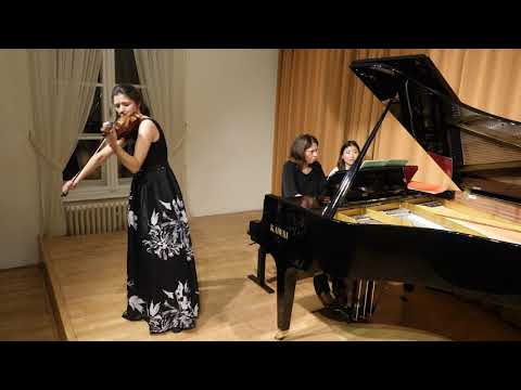 Dvorak Romance in f-minor for Violin and Piano, op. 11 - Katharina Dobrovich & Doris Adam