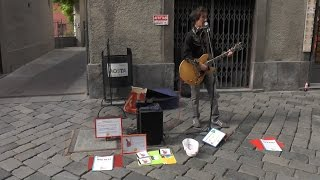Bob Dylan - Thunder On The Mountain (cover, Festival degli Artisti di Strada 2014 - Aosta)