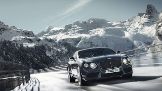 The Beautiful Alps vs Sports Car: James Bond Style