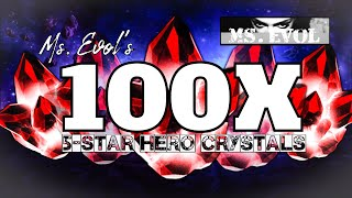 100 x 5-Star Crystals!!! Ultimate Hunt for SpiderGwen!!! 🕷 Biggest 5-Star Opening So Far?! - MCOC