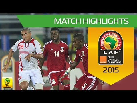 Tunisia - Equatorial Guinea  | CAN Orange 2015 | 31.01.2015