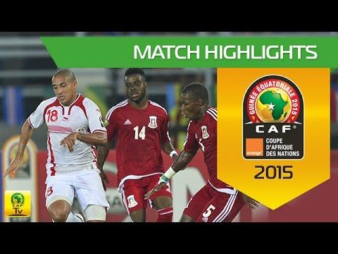 Tunisia - Equatorial Guinea  | CAN Orange 2015 | 31.01.2015