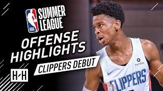 Shai Gilgeous Alexander Full Offense Highlights At 2018 Nba Summer League   La Clippers Debut!