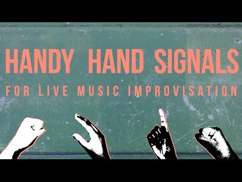 Handy Hand Signals - for live music improvisation