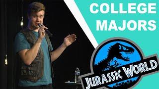 College Majors & Jurassic World - Ryan Roe
