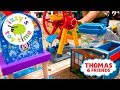 Thomas Train AMUSEMENT PARK CHALLENGE! Thomas and Friends with Brio & Trackmaster |Toy Trains 4 Kids Mp3