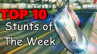 Asphalt 8 | TOP 10 Stunts of The Week #21