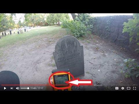 Paranormal Activity in Salem Massachusetts (Burying Point Cemetery)