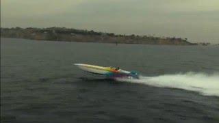 Cigarette Offshore Boat Jump II