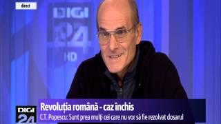 C.T. Popescu: Domnul acesta, Ion Iliescu, nu are nicio legătură cu Revoluția
