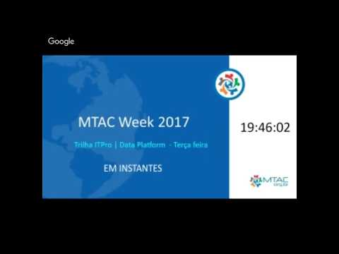 MTAC WEEK - DIA 2 - IT Pro e DataPlataform