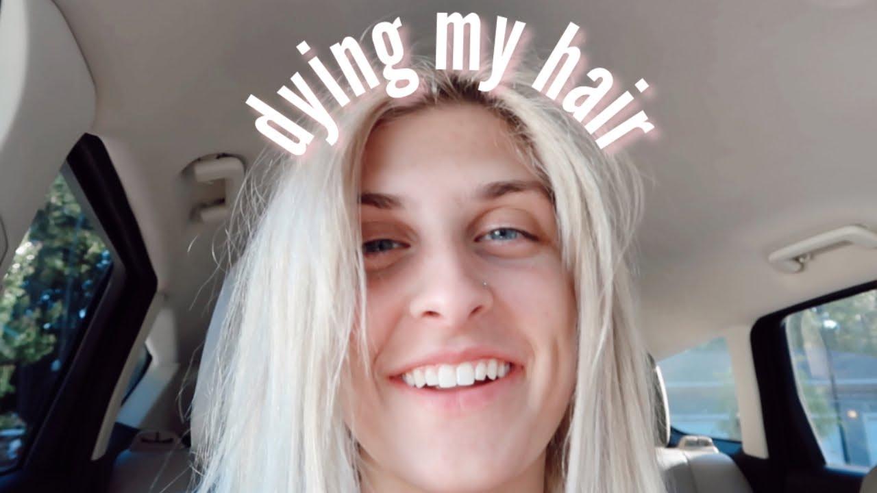 dying my hair AGAIN?? | vlog