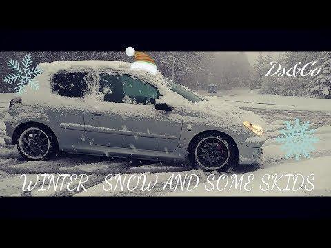Смотреть Snow, Skids & Winter fun with my Peugeot 206 *Vlog.22* онлайн
