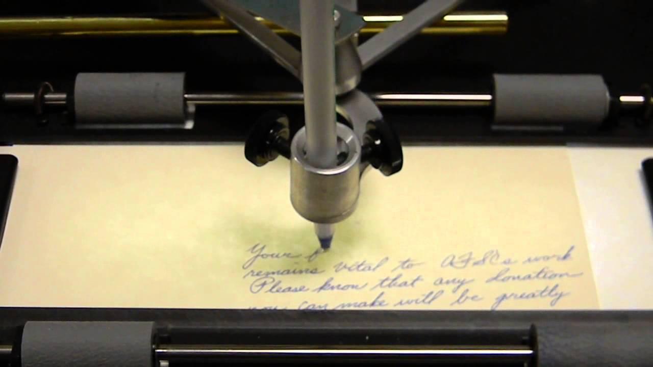 Finding a ghostwriter machine