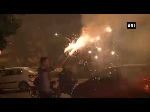 Post Diwali, streets of metro cities filled with residue of burst crackers - ANI News