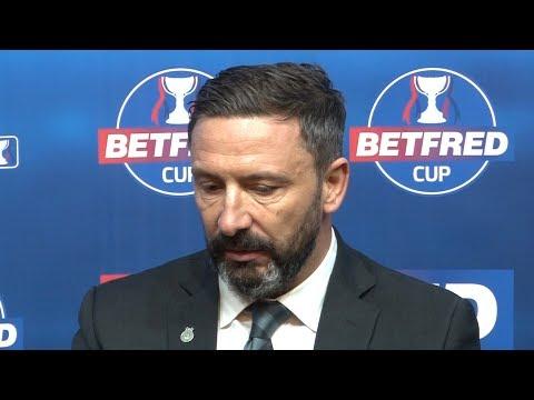 Celtic 1-0 Aberdeen - Derek McInnes Full Post Match Press Conference - Betfred Cup Final