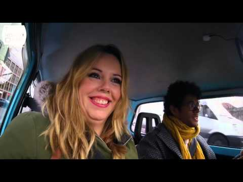 Richard Ayoade & Roisin Conaty in Berlin - Travel Man S02E08