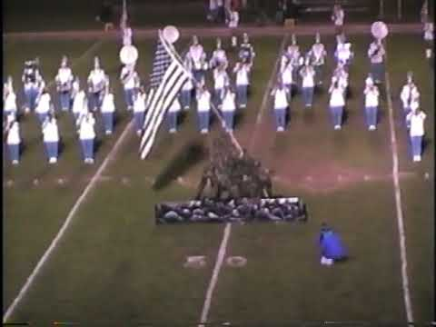 1993 Busy Bee Band & Honeybees Pre-Game Show   East Fairmont High School