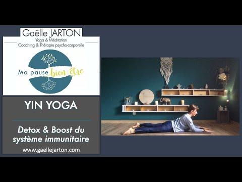 Séance de Yin Yoga spécial Detox & Boost du système immunitaire