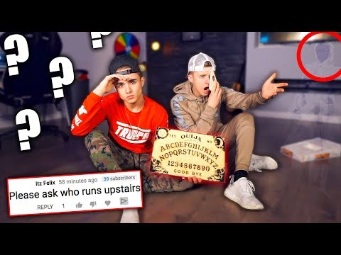 WE ASKED THE OUIJA BOARD YOUR QUESTIONS {Something touched me}