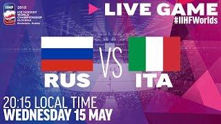 Russia vs. Italy | Full Game | 2019 IIHF Ice Hockey World Championship