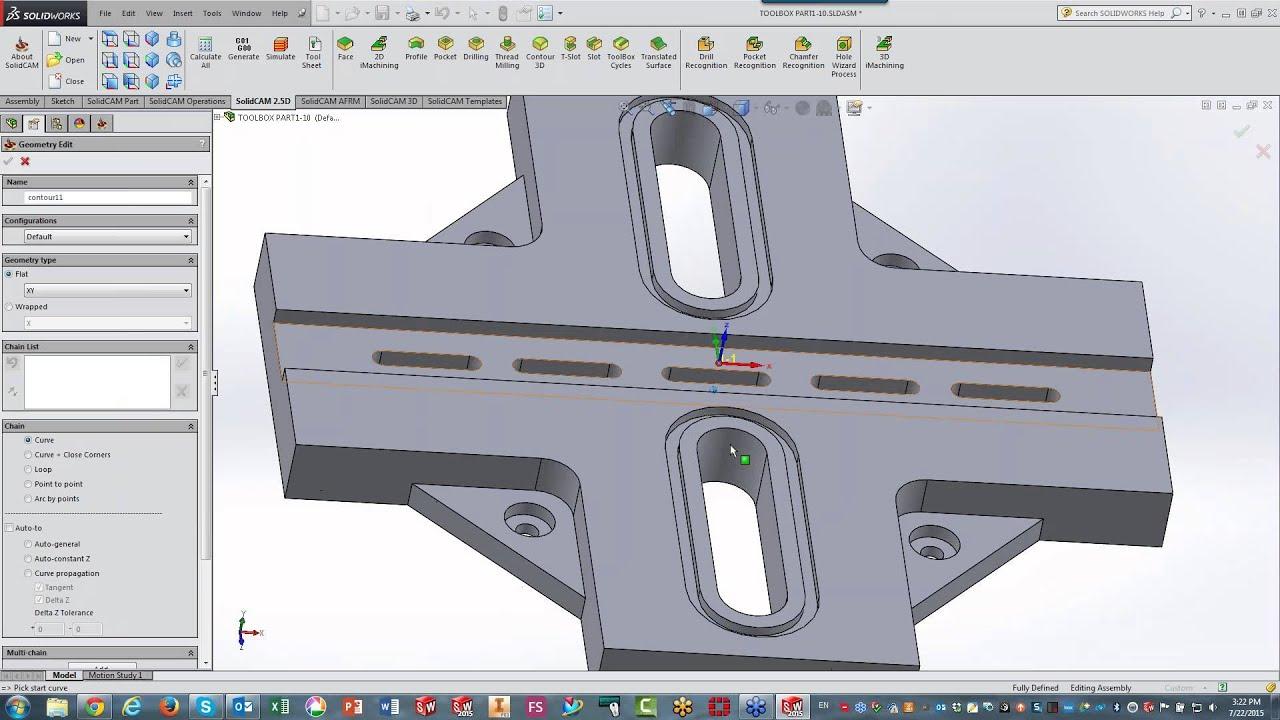 SC 2015 - Using Templates, iMachining 3D, HSM, Toolbox