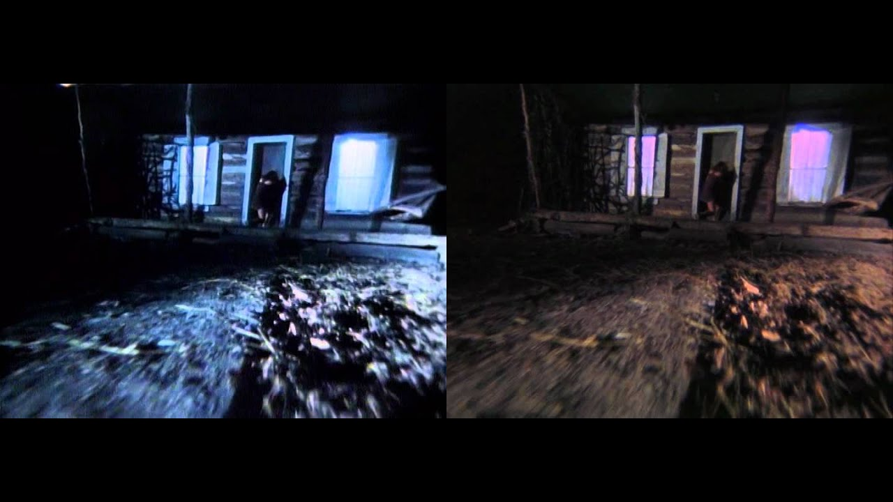 "a comparison between the movies evil dead and evil dead 2 ""evil dead"" in respect to ""evil dead 2"" main character personality differences from the original to the remake ""evil dead"" and ""evil dead 2"" are both late 80's horror movies starring bruce campbell as ash, a quiet guy in his early 20's that ends up hacking to death his demon possessed friends to avoid death."