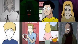 Animated Horror Story YOUTUBE VILLAIN DEFEATS #1