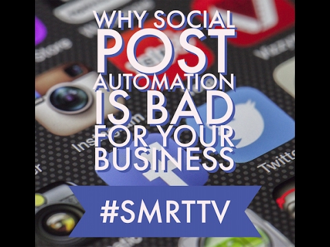 Why social post automation is bad for your business