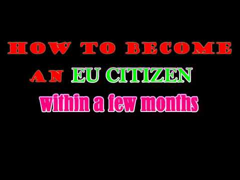 HOW TO BECOME AN EU CITIZEN IN CYPRUS